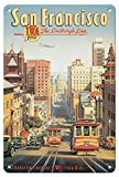 SUNLIGHT San Francisco The Lindbergh Line Aluminum Funny Aluminum Funny Art Decor Movie Poster Vintage Tin Sign Dorm Game Room 12 X 8 in