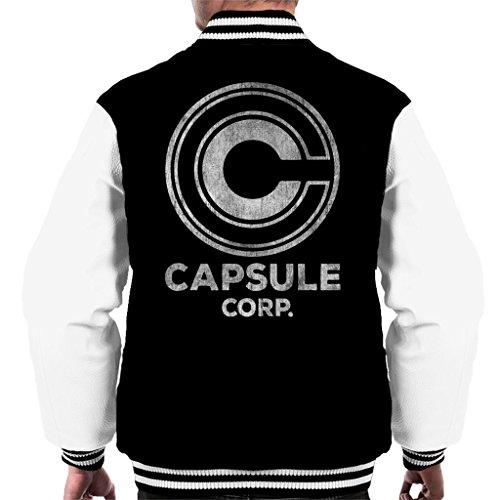 Cloud City 7 Capsule Corp Dragon Ball Z Men's Varsity Jacket