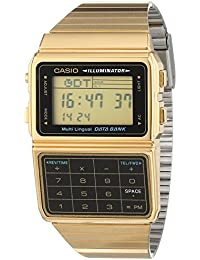 Casio Collection – Reloj Unisex Digital con Correa de Acero Inoxidable – DBC-611GE-1EF