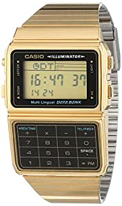 Casio Collection Unisex-Uhr Digital mit Edelstahlarmband – DBC-611GE-1EF