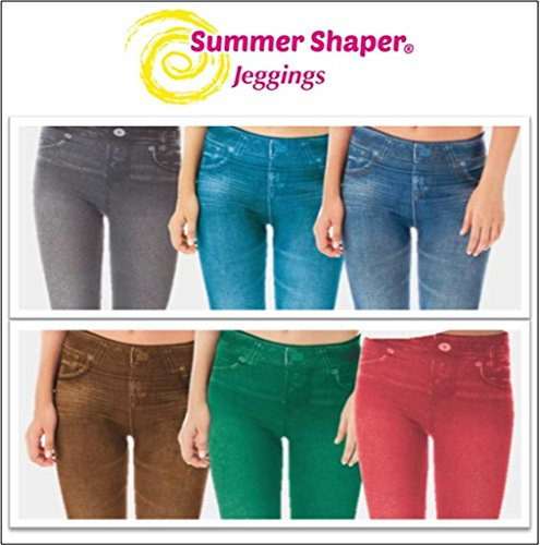 Summer shaper Jeggings, 3 unidades, slim jeans, de TV, tamaño XXL/XXXL (48-52)