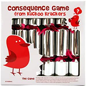 6 Consequence Game Christmas Crackers