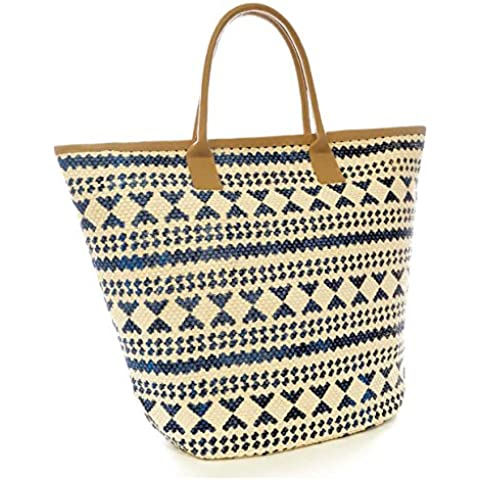 Bolsa de verano/de playa con estampado azteca para mujer