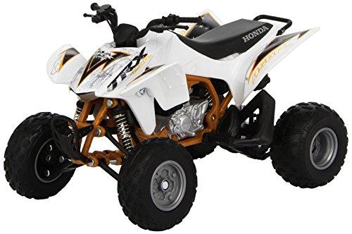 New Ray 2012 Honda TRX-450R 57473], White, 1:12 Die Cas