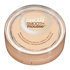 Maybelline Dream Smooth Mousse Foundation Creamy Natural 200