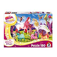 "Schmidt Spiele 56247"" Arrival of The Pony Unicorns Glitter Puzzle"