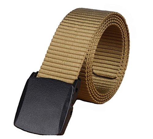Marine Mode Trainer (Yacn M?nner Brown Tactics Duty Nylon G¨¹rtel mit Plastikschnalle Military 1,5 in Breite)