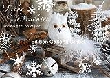 Weihnachstkarte Postkarte ~ Eule (GLimmerlack)