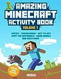 Amazing Minecraft Activity Book: Volume 1