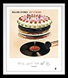 Rolling Stones [Frame]: Let It Bleed Lithograph [Vinyl LP] (Vinyl)