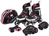 ROLLERBLADE SPITFIRE CUBE G Inline Skate black/pink Inlineskates Skates Rollerskates Mädchen Girls rosa 33-36,5