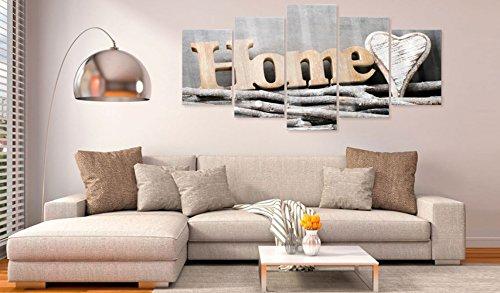 murando - Acrylglasbild House 200x100 cm - 5 Teilig - Glasbilder - Wandbilder XXL - Wandbild - Bilder Home m-B-0031-k-m - 4