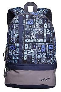 F Gear Burner P11 26 Ltrs Blue Casual Backpack (2437)