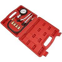 AITOCO 8 unids Gasolinera Profesional Kit de Medidor de Compresión de Cilindro de Gasolina Automotriz Herramienta de Diagnóstico Medidor de Presión del Cilindro