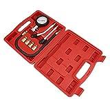 AITOCO 8 unids Gasolinera Profesional Kit de Medidor de Compresión de Cilindro de Gasolina...