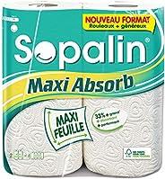 Sopalin Maxi Absorb 2=4 rouleaux - Blanc