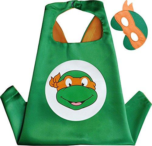 angelo Kindes Umhang & Maske (Teenage Mutant Ninja Turtles-kleid)