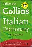 Collins Gem Italian Dictionary (Collins Gem) [Lingua Inglese]