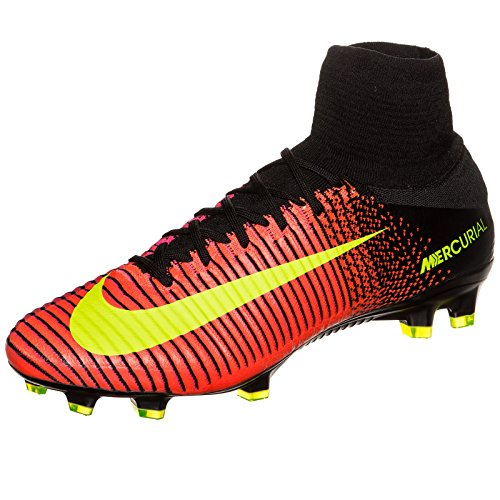 FG Blk Herren V Crimson Vlt Schwarz Nike Total Pnk Mercurial Fußballschuhe Superfly orange Blst PIwdSqASx