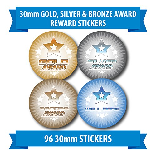 96-30mm-gold-silver-bronze-award-children-reward-stickers-sports-medals
