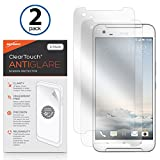 HTC One X9 Bildschirmschutzfolie, BoxWave® [ClearTouch AntiGlare (2er Pack)] Anti-Fingerprint Matt Folie Haut für HTC One X9