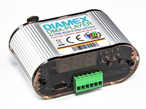 -Dateien von DMX gesteuert abspielen, für WS2812B , SK6812 u.a. ()