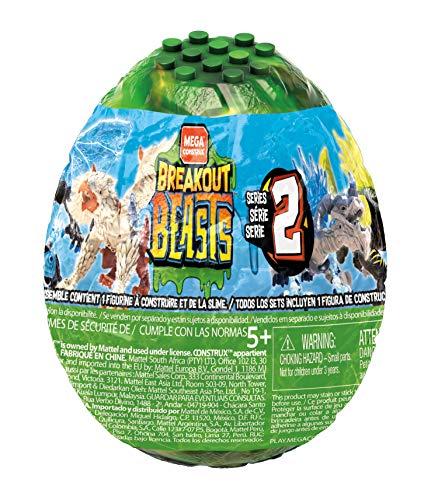 Breakout Beast- Uovo con Creatura Mostruosa Grifforce e Slime, Colore Verde, GFM62