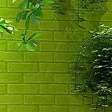 TAOtTAO Wand-Ziegelstein-Stein-rustikaler Effekt-selbstklebender Wand-Aufkleber-Ausgangsdekor des Wand-3D (B)