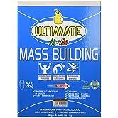 Ultimate Italia - Mass Building - Oltre 50 ingredienti per aumentare i tuoi muscoli - 4000 g - Gusto Vaniglia - 51gGmKu94KL. SS166