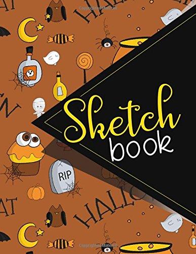 ook, Comic Book Sketchbook, Makeup Artist Sketch Book, Sketch Notebook For Girls, Sketching Books For Teenagers, Cute Halloween Cover. 8.5 x 11 ()