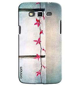 Omnam Leaf Of Pink Roses Pattern Printed Designer Back Cover Case For Samsung Galaxy Grand 2