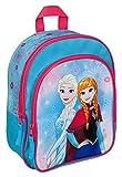 Undercover FRZH7601 Rucksack mit Vortasche, Disney Frozen, ca. 31 x 25 x 10 cm