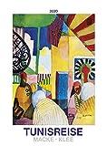 Tunisreise - Macke, Klee 2020 - Bildkalender (42 x 56) - Kunstkalender - Wandkalender - Malerei
