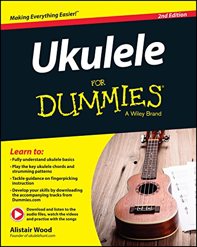 Ukuele For Dummies (Book / Audio Online): Noten, Lehrmaterial, Download für Ukulele