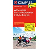 Wittenberge - Flusslandschaft Elbe - Östliche Prignitz: Fahrradkarte. GPS-genau. 1:70000 (KOMPASS-Fahrradkarten Deutschland, Band 3026)