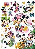 Enfants Stickers MURAUX Grand Disney Mickey Mouse Minnie Autocollants Filles Chambre...
