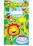 Just for Fun - Bolsas para fiestas con diseño de animales de la jungla (20 unidades)