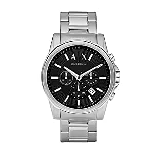 Armani Exchange Outerbanks Analog Black Dial Men's Watch - AX2084