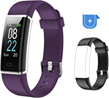 Willful Orologio Fitness Tracker Smartwatch Android iOS Cardiofrequenzimetro da Polso Smart Watch Uomo Donna Bambini...