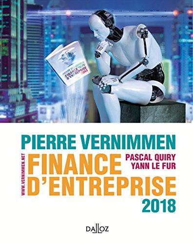 Finance d'entreprise 2018 - 16e d.