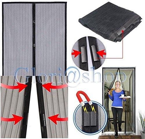 Zanzariera tenda magnetica anti zanzare mosche casa porta balcone 240 x 140 mm