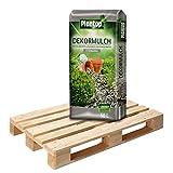 20 Sack Dekormulch Steingrau mit je 50 Liter = 1000 Liter Plantop Mulch