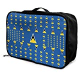 Qurbet Reisetaschen,Reisetasche, Portable Luggage Duffel Bag Saint Lucia Flag Travel Bags Carry-on...
