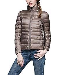 cheap for discount 790e7 b3433 Amazon.it: piumini leggeri donna - Beige / Cappotti ...