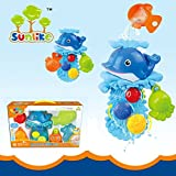 [Sponsored]TOY-STATION Sunlike Bathtime Pals Ocean Play Set (Tub Dolphin)
