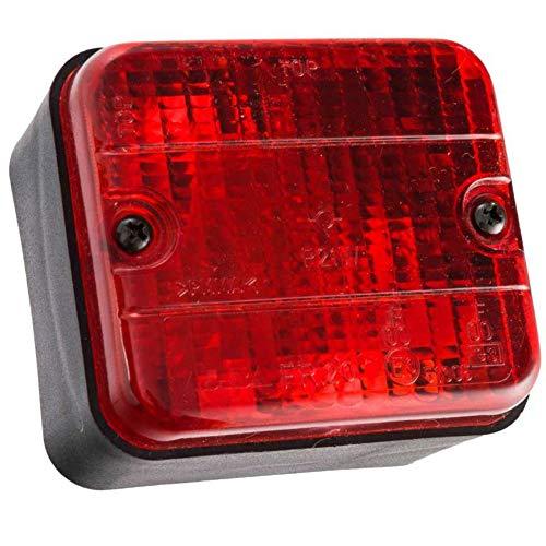 Pour Skoda Fabia II 2007 Rouge//Transparent DEL Arrière Feux Arrière Feux Indicateurs Set