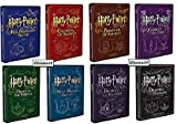 HARRY POTTER - La Collezione Completa Steelbook (Saga 8 Film)