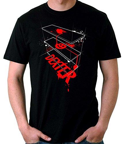 35mm - Camiseta Hombre Dexter Ref 2-, NEGRA, M