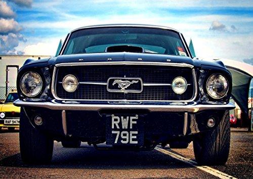 ford-mustang-3-lujo-cuaderno-de-coche-mejor-foto-de-color-de-imagen-unica-impresion-a4-poster