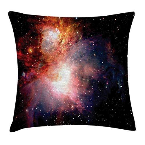 Jxrodekz Weltraum Dekokissen Kissenbezug, Space Nebula After Super Nova Celestial Erforschen Sie den Kosmos im Universum, Decorati
